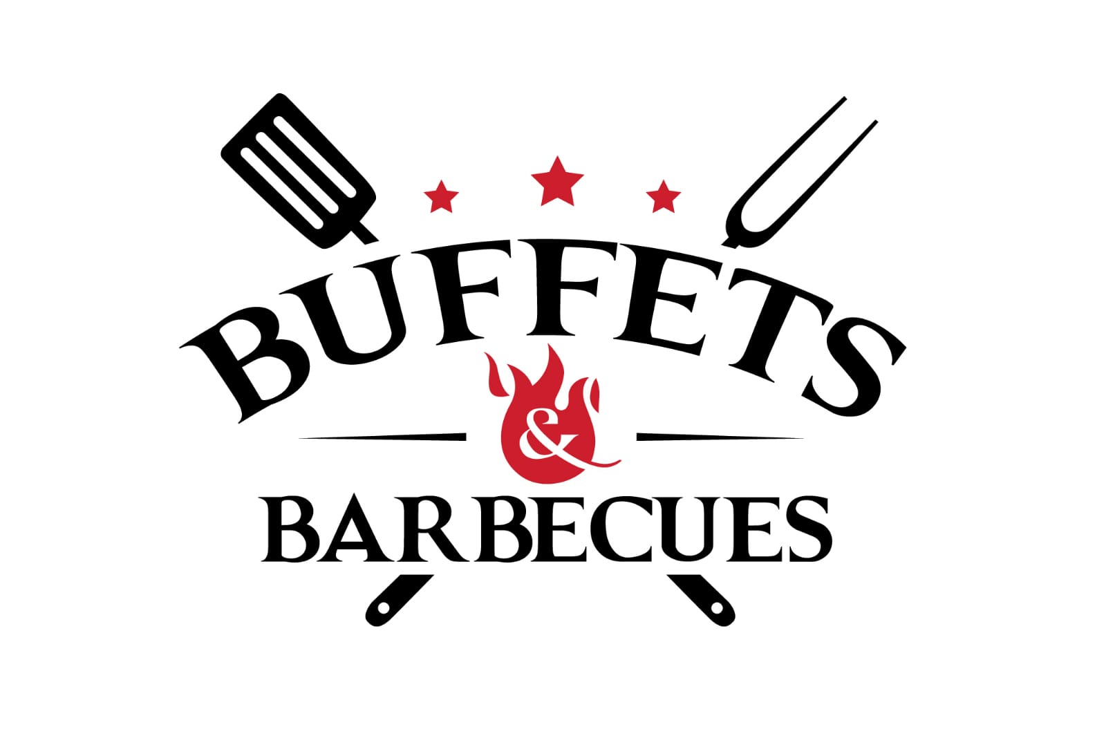 NEW BUFFET AND BBQ LOGO